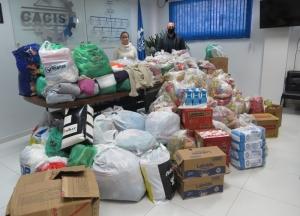 CACIS faz entrega de uma tonelada de alimentos à Assistência Social
