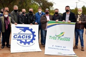CACIS participa do Ato Pró ERS-305 em Crissiumal