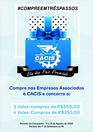 CACIS LANÇA CAMPANHA PARA O MÊS DOS PAIS