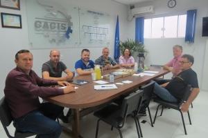 DIRETORIA DA CACIS PROMOVE A PRIMEIRA REUNIÃO DE TRABALHO DO ANO DE 2019